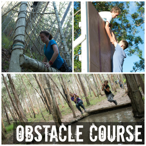 obstacle course collage 2